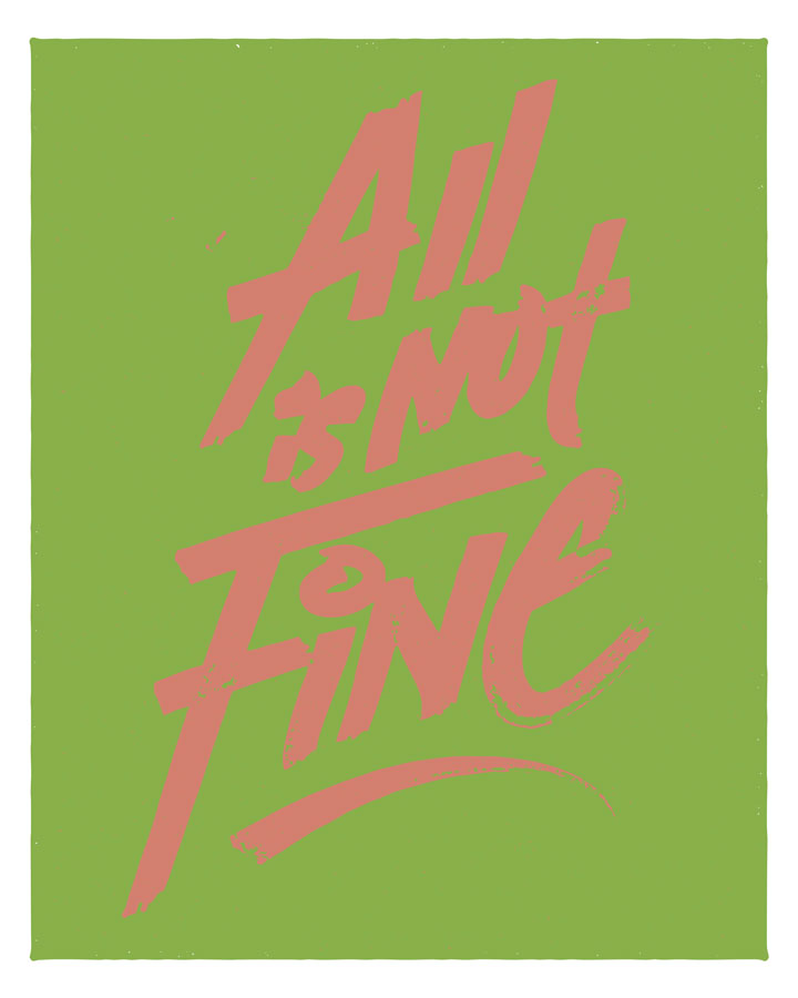 ALL IS NOT FINE -2017 analogous