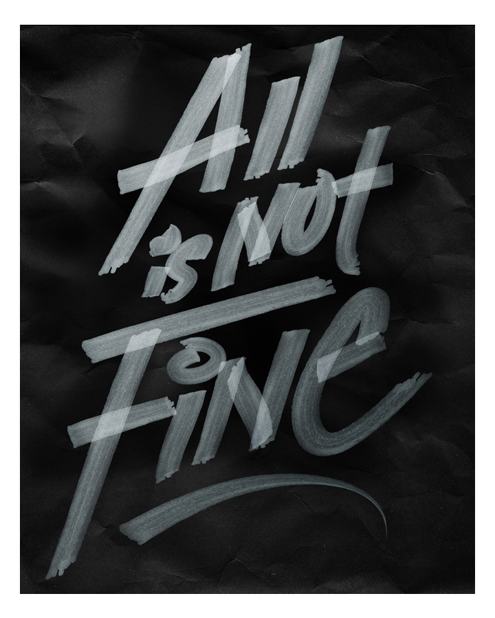 ALL IS NOT FINE